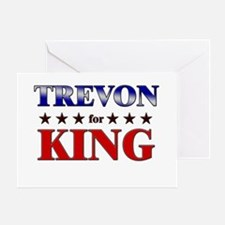 TREVON for king Greeting Card