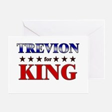 TREVION for king Greeting Card