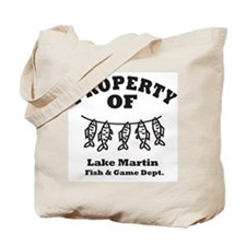 Property of Fish & Game Tote Bag