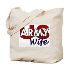 US Army Wife - Patriotic Tote Bag