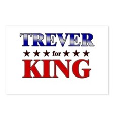 TREVER for king Postcards (Package of 8)