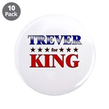 """TREVER for king 3.5"""" Button (10 pack)"""