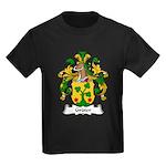 Gruter Family Crest Kids Dark T-Shirt