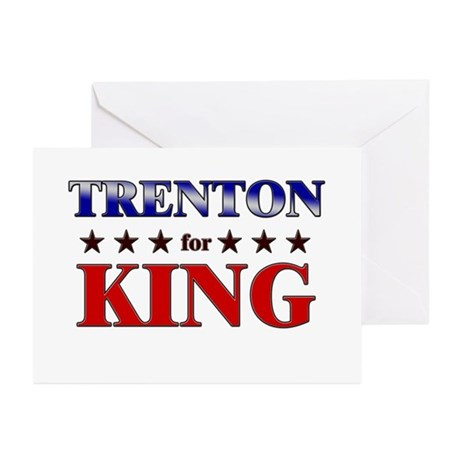 TRENTON for king Greeting Cards (Pk of 10)