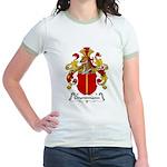 Grundmann Family Crest Jr. Ringer T-Shirt