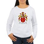 Grundmann Family Crest Women's Long Sleeve T-Shirt
