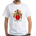 Grundmann Family Crest White T-Shirt