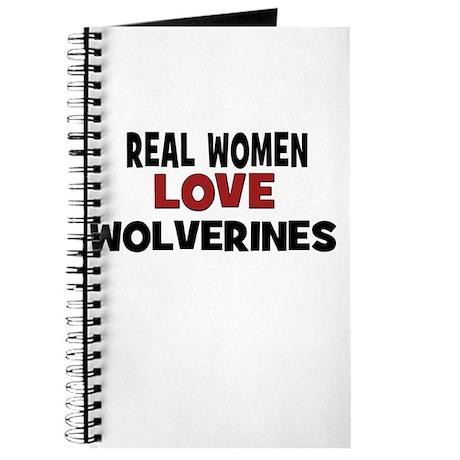 Real Women Love Wolverines Journal