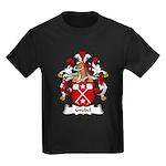 Grubel Family Crest Kids Dark T-Shirt