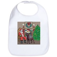 What A Lab Wants For Christmas Bib