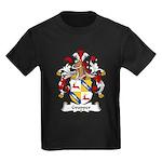 Gropper Family Crest Kids Dark T-Shirt