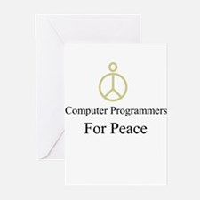 Computer Programmers Greeting Cards (Pk of 10)