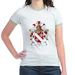 Groll Family Crest Jr. Ringer T-Shirt