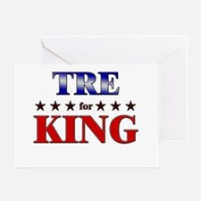 TRE for king Greeting Card