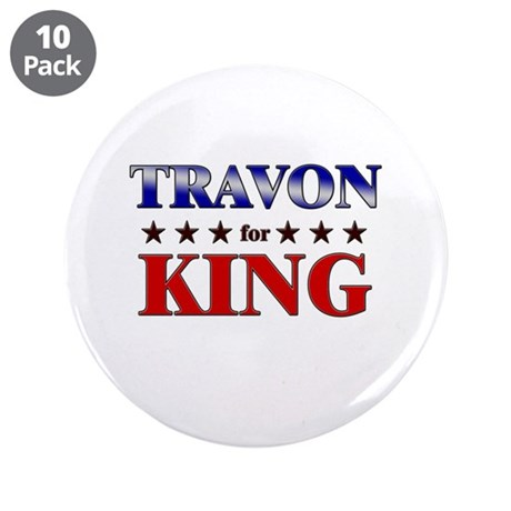 """TRAVON for king 3.5"""" Button (10 pack)"""