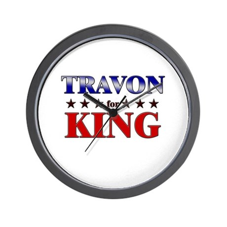 TRAVON for king Wall Clock