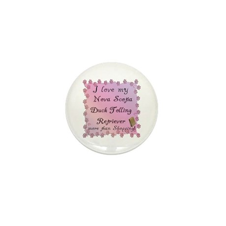 Toller Shopping Mini Button (10 pack)