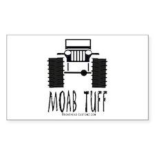 MOAB TUFF Rectangle Decal