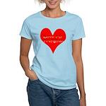 Love My Firefighter Women's Light T-Shirt