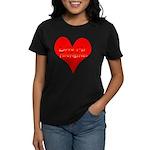 Love My Firefighter Women's Dark T-Shirt