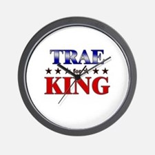 TRAE for king Wall Clock
