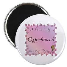Otterhound Shopping Magnet