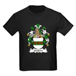 Grabow Family Crest Kids Dark T-Shirt
