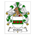 Grabow Family Crest Small Poster