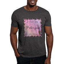 Pekingese Shopping T-Shirt