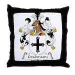 Grabmann Family Crest Throw Pillow