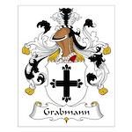 Grabmann Family Crest Small Poster