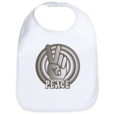 Retro Peace Bib