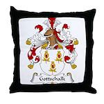 Gottschalk Family Crest Throw Pillow