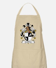 Gottfried Family Crest BBQ Apron
