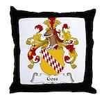 Goss Family Crest Throw Pillow