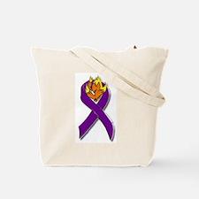 Jewish Firefighter Star Tote Bag