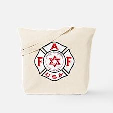 Jewish FireFigher Tote Bag