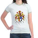 Gorissen Family Crest Jr. Ringer T-Shirt