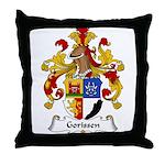 Gorissen Family Crest Throw Pillow