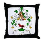 Goll Family Crest Throw Pillow