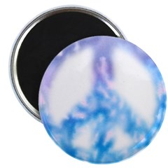 Watercolor Peace Sign Magnet
