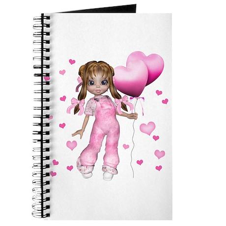 Kiki Hearts and Balloons Journal