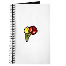Tulip Flowers Journal