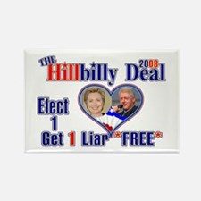 Hillbilly 2008 Deal Rectangle Magnet
