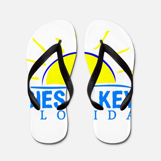 Summer siesta key- florida Flip Flops