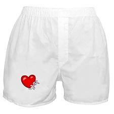 Bunny Heart Boxer Shorts