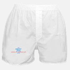 Coolest: Lyndon B. John, TX Boxer Shorts