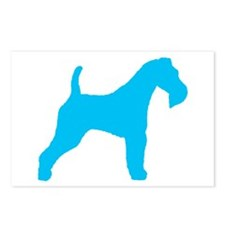 Blue Wire Fox Terrier Postcards (Package of 8)