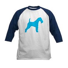 Blue Wire Fox Terrier Tee