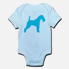 Blue Wire Fox Terrier Infant Bodysuit